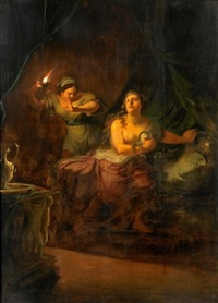 tod der kleopatra by johann jakob dorner the elder