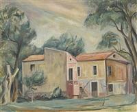 landhaus im süden by abram adolphe milich