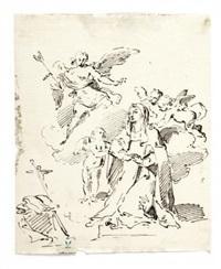 l'adorazione dei magi e santa teresa (2 works) by pietro antonio novelli