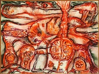 rød sol-verden by lars akirke