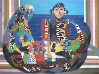 orpheus and his muse by eileen agar