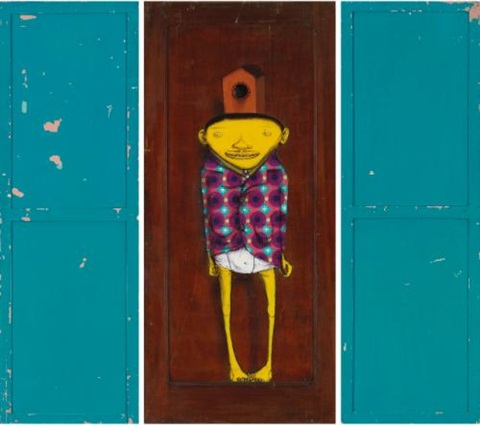 untitled in 3 parts by osgemeos