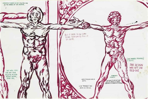 no title imperfect works of art by raymond pettibon