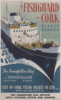 fishguard - cork, innesfallen by harry hudson rodmell