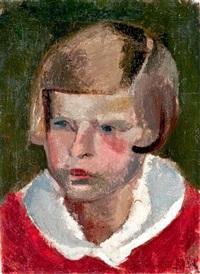 kislányportré (b. e. portréja) by vilmos aba-novák