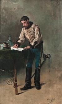 la carta del militar by josé giménez martín