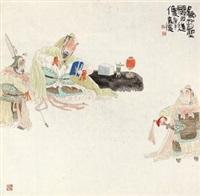 关羽造像 by deng jiade