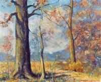 autumn landscape by frank l. miller