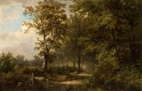 paisaje con árboles by gerardo de alvear