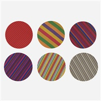 collection of six fabrics by alexander hayden girard
