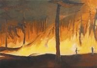 forest fire by dan attoe