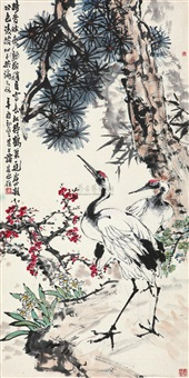 flower and bird by tan jiancheng