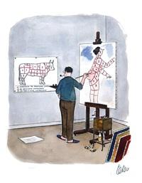 le peintre by roger tetsu