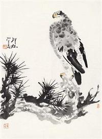 鹰 by xiao lang
