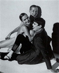 wallace, michelle, josh - new york by steven meisel