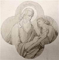 st. matthaeus (+ 8 others, various sizes; 9 works) by karl hermann theodor langer