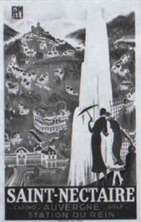 saint-nectaire by r. de valerio