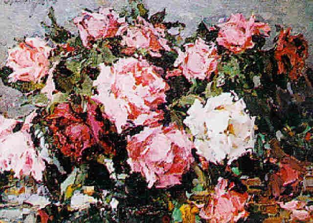 roses by sergei besedin