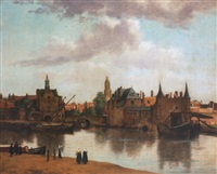 View of Delft, 1700–1799