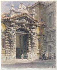 milano, portale del seminario by giannino grossi