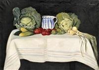 csendélet zöldségekkel by béla borzásy