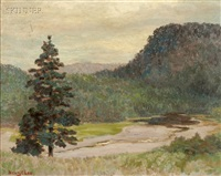 landscape by henry c. lee