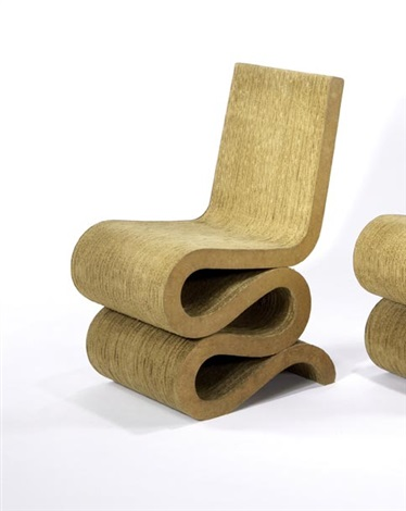 wiggle chair by frank gehry