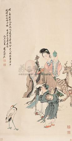 寿星 by liu lingcang