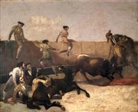 escena taurina by manuel rodriguez de guzman