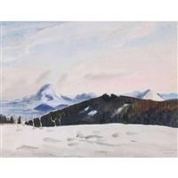 böhmisches bergland by erich heckel