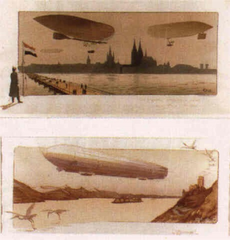 zeppelin by e. montaut