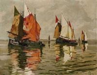 segelboote by hans figura
