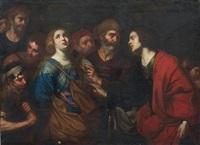 santa condotta al martirio by francesco de rosa