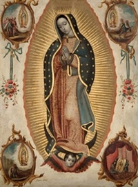 la virgen de guadalupe by josé mariano farfan de los godos