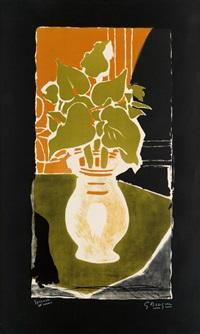 feuilles, couleur lumière by georges braque