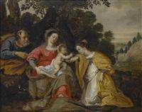 die mystische verlobung der hl katharina by anonymous-flemish (17)