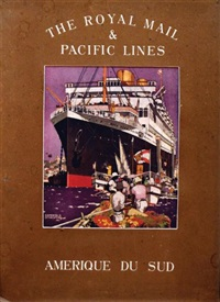 the royal mail & pacific lines - amerique du sud by kenneth shoesmith