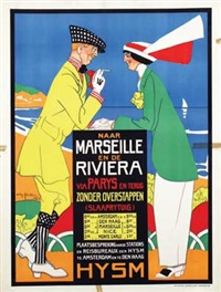 hysm naar marseille en de riviera by willy sluijter