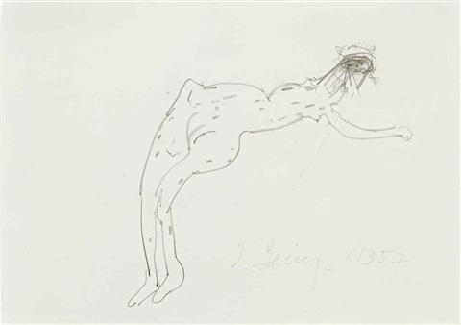 untitled akt by joseph beuys