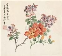 花卉 by jiang miaoxiang