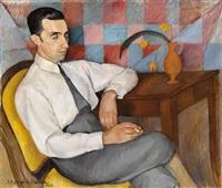 portrait eines mannes by maria fromowicz nassau