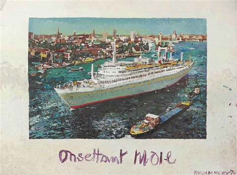 onsettant moie by malcolm morley