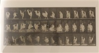 woman dancing, plate 193 (from animal locomotion) by eadweard muybridge