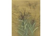 silver grass by toshio tabuchi