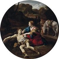 angelica pflegt medoro by giovanni lanfranco