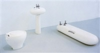 hinge and tap tap soap chain plug waste and tap tap chain plug handle waste by hadrian pigott