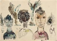 maskenmenschen by otto gleichmann