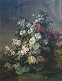 summer flowers by georges viard