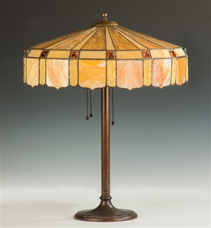 Arts U0026 Crafts Table Lamp By Duffner U0026 Kimberly