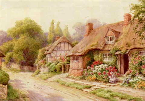 at lowscott bershires by maud hollyer